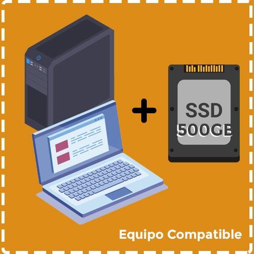 Rejuvenecimiento 500GB