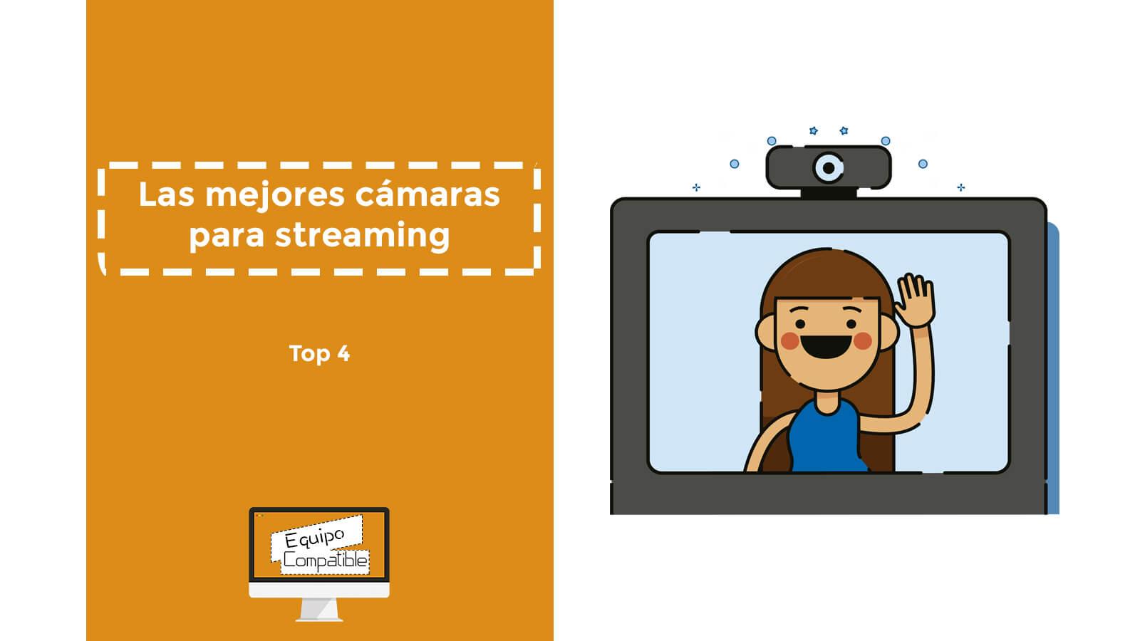 mejores camaras para streaming