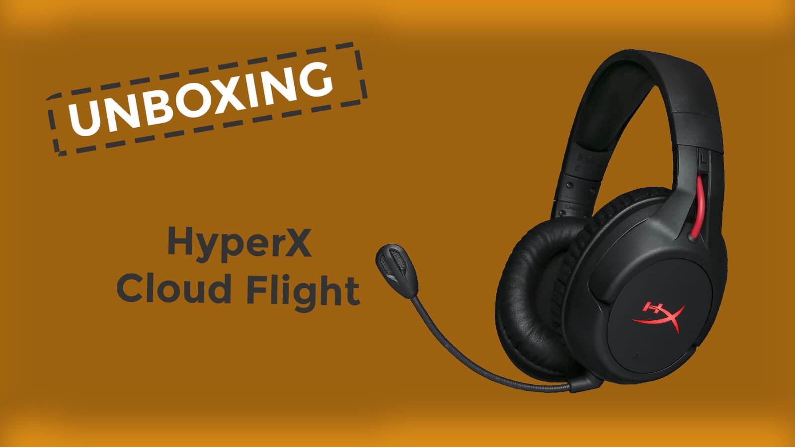 Unboxing HyperX Cloud Flight