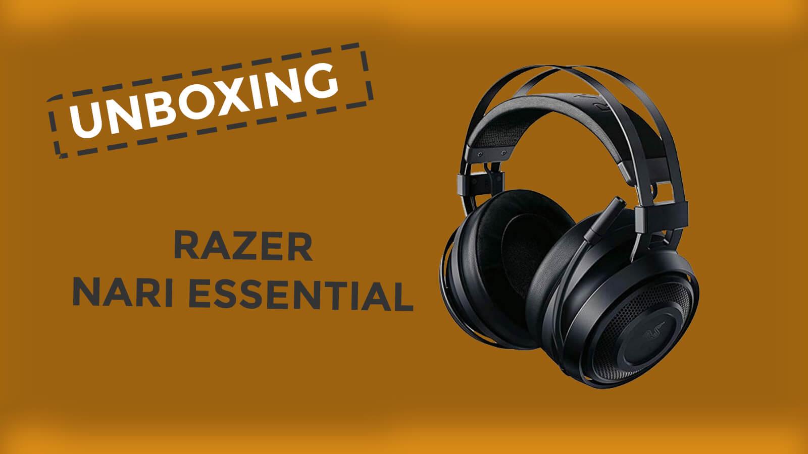 Unboxing Razer Nari Essential